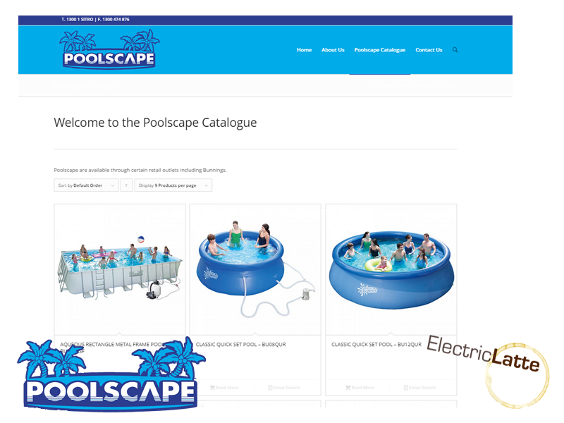 poolscape-website-development